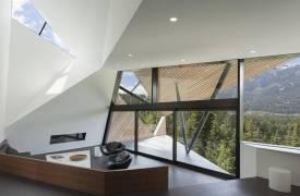 Дом без прямых углов в Канаде