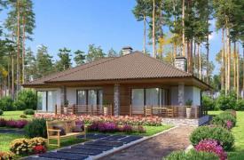 ТОП-10 проектов одноэтажных коттеджей
