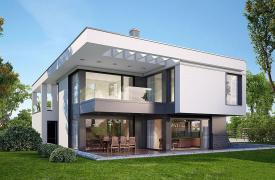 ТОП-10 проектов домов с панорамным остеклением
