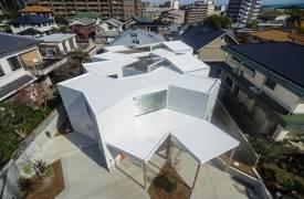 Дом-оригами в Осаке