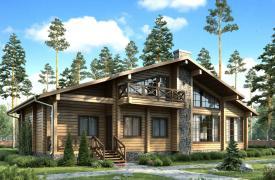 ТОП-10 проектов домов в стиле шале