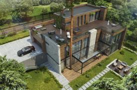 ТОП-10 проектов домов с эксплуатируемой кровлей