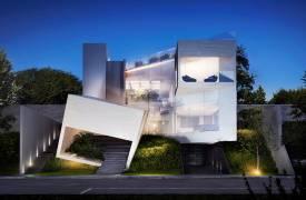 Необычный современный дом в Мексике