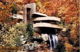 Дом над водопадом Фрэнка Ллойда Райта