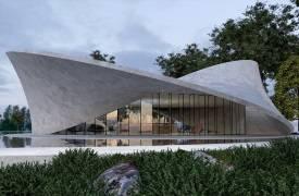Дом-Лента Мёбиуса от Энтони Гиббона