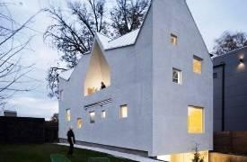 Радикальная геометрия: Haus Gables от Дженнифер Боннер