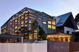 Дом с перголой и бассейном в Сингапуре