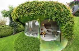 Дом-пещера: шедевр бионической архитектуры