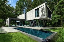 Villa Neo в Германии - пример экоархитектуры