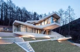 Футуристический дом в Южной Корее