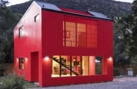 Красный цвет в архитектуре