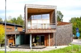 Сложная концепция домов-спиралей