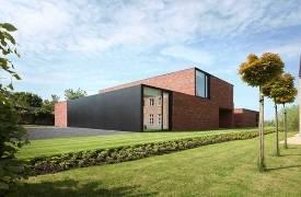 Авангардный эко-дом в Бельгии