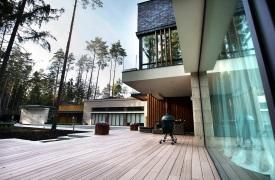 Частная резиденция V3 в Подмосковье от Portner Architects