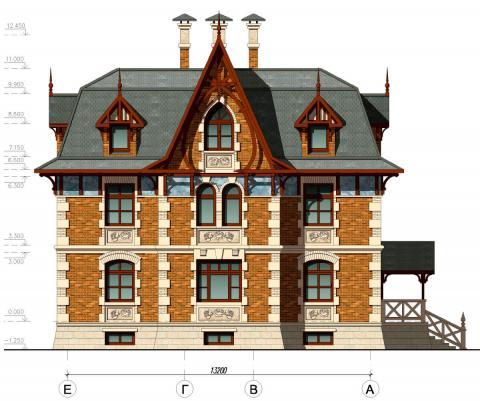 Фасад проекта Виктория