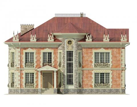 Фасад проекта Ido-368