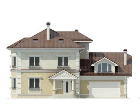 Фасад проекта Ido-504