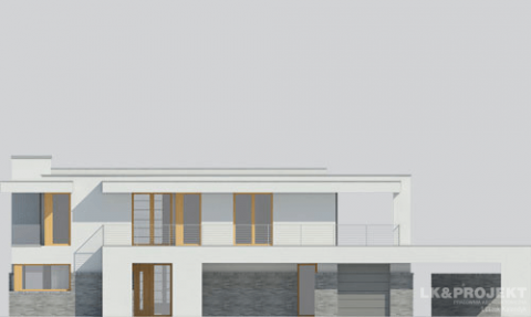 Фасад проекта LK&1084