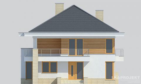 Фасад проекта LK&896