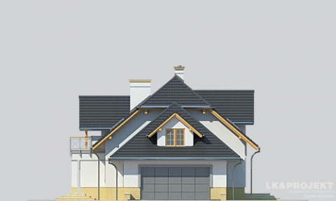 Фасад проекта LK&1107