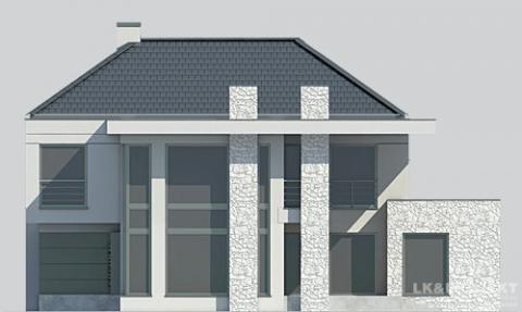 Фасад проекта LK&1131