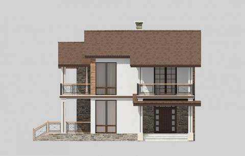 Фасад проекта 87-20