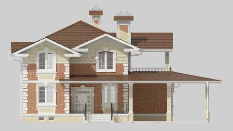 Фасад проекта 83-57
