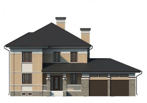 Фасад проекта 84-02