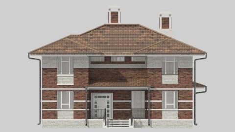 Фасад проекта 84-08
