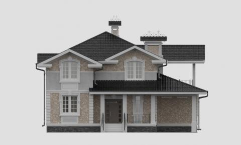 Фасад проекта 84-56