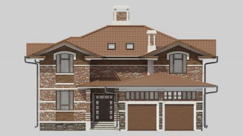 Фасад проекта 84-59