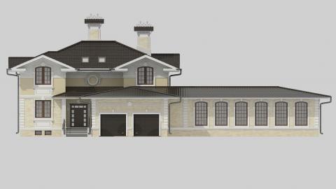 Фасад проекта 84-64