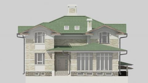 Фасад проекта 84-70