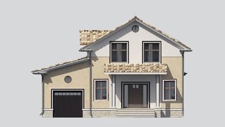 Фасад проекта 87-08