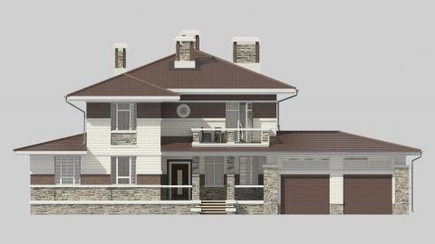 Фасад проекта 87-56