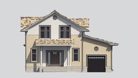 Фасад проекта 87-61