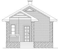 Фасад проекта 88-43