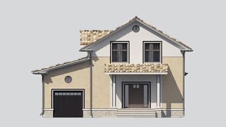 Фасад проекта 89-04