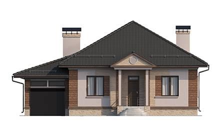 Фасад проекта 90-15