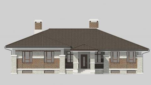 Фасад проекта 91-02