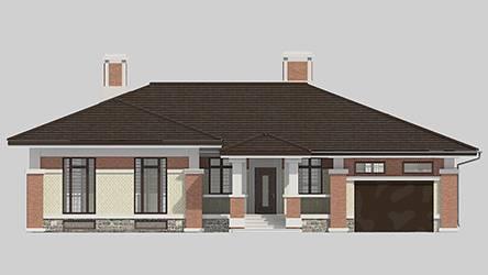 Фасад проекта 91-11