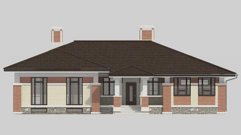 Фасад проекта 91-28
