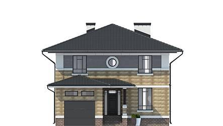 Фасад проекта 92-64