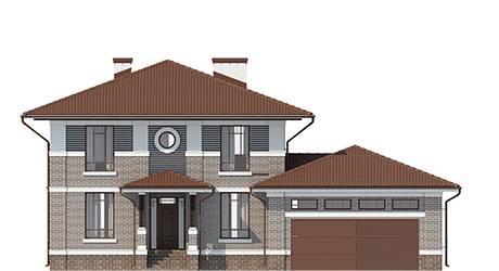 Фасад проекта 92-75