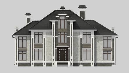 Фасад проекта 92-88