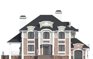 Фасад проекта 93-11
