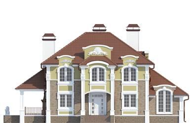 Фасад проекта 93-17