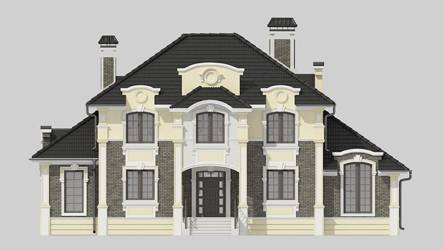 Фасад проекта 93-18
