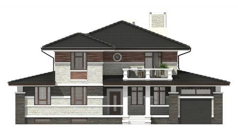 Фасад проекта 93-31