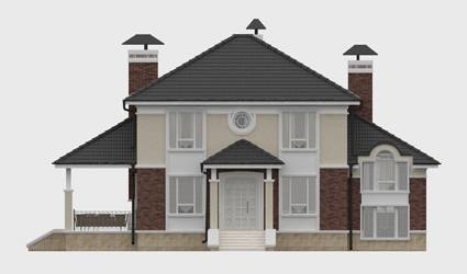 Фасад проекта 93-50